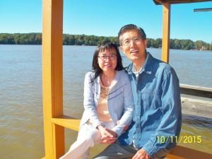 武雲海,鐘赤軍夫婦(使者同工-Duke團契輔導) / Yuhai Wu and Gabby Zhong (AFC co-workers for Duke Fellowship)